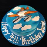Dusty the Crop Duster Cake