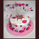 Hearts on Wire Cake