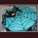 Spider on a Web Cake