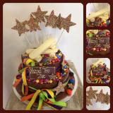 Smarties and Stars Cake