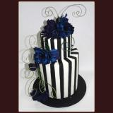 2 Tier Tim Burton inspired Cake